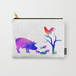 Pigs on the farm Carry-All Pouch