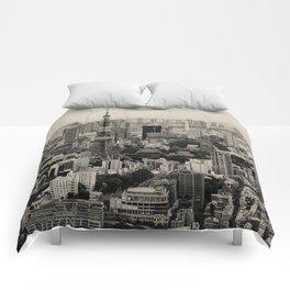 Sepia Tokyo Comforters