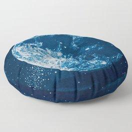Big Blue Moon Floor Pillow