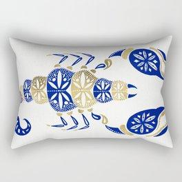 Scorpion – Navy & Gold Rectangular Pillow
