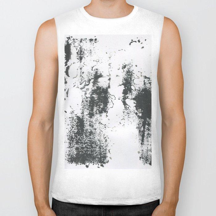 Black/white Biker Tank