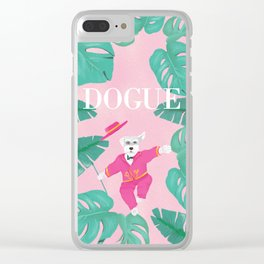 Dogue - Dance Clear iPhone Case