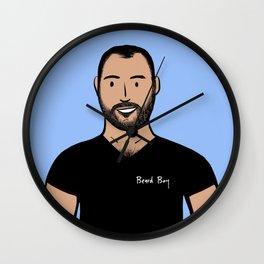 Beard Boy: Marco Wall Clock