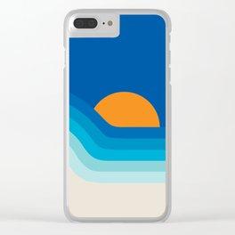 Ocean Dipper Clear iPhone Case