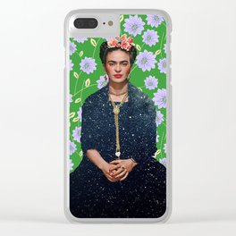 Frida Kahlo Portrait II Clear iPhone Case