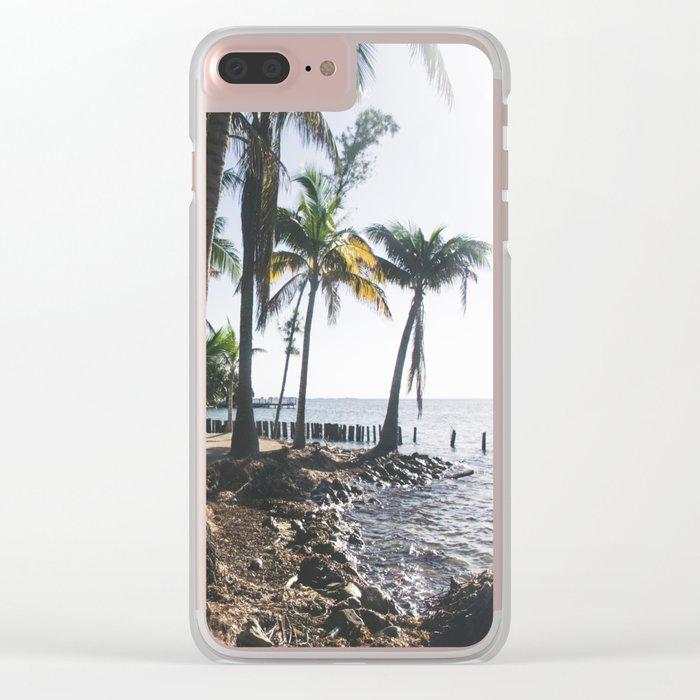 "16°53'10""N x 88°07'10""W Clear iPhone Case"