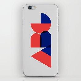 Geometric ABC iPhone Skin