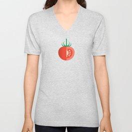 Vegetable: Tomato Unisex V-Neck