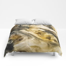 Purgatory Watercolor Abstract Painting Comforters