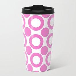 Dot 2 Pink Travel Mug