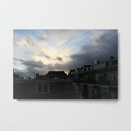 Dutch town Metal Print