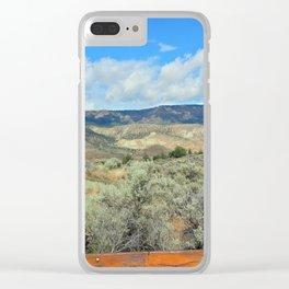 Stony Rim Trail Clear iPhone Case