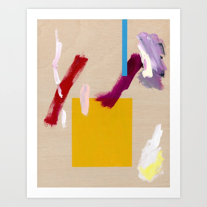 Untitled (Abstract Composition 3) Art Print