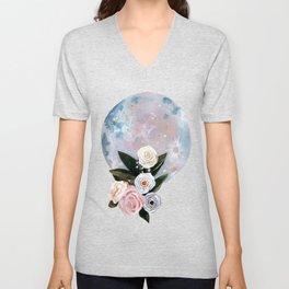 Opal Moon Unisex V-Neck
