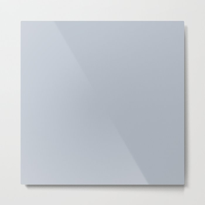 Bluebell Blue Metal Print