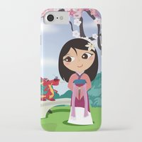 mulan iPhone & iPod Cases featuring Mulan by Loud & Quiet