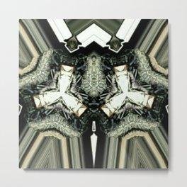 Twin Trigons Metal Print