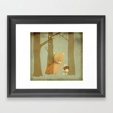 Oso Follow Me Framed Art Print