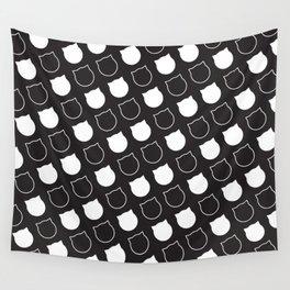 Polka Cat - Reverse Wall Tapestry