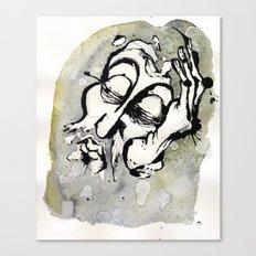 the judgement of zeus Canvas Print