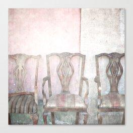 Antique Chairs Canvas Print