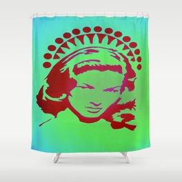 Bacall Beach Icon Shower Curtain