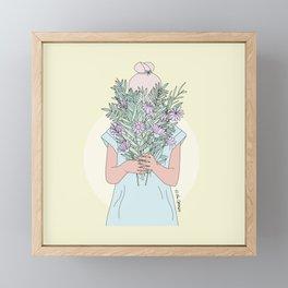 It's The Little things Framed Mini Art Print