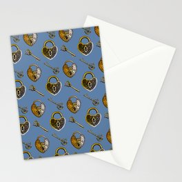 Lockets & keys 2 Stationery Cards