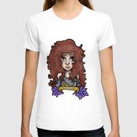 taurus T-shirts featuring Taurus by Gabriela Ash Illustrations