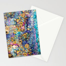 Magic Glitter Stationery Cards