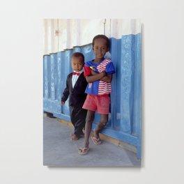 Overdressed In Zanzibar Metal Print