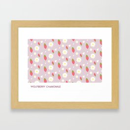 Wolfberry Chamomile  Framed Art Print