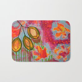 """Changing"" Original Painting by Toni Becker, Artfully Healing Bath Mat"
