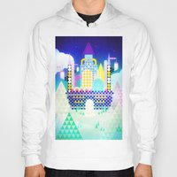 castle in the sky Hoodies featuring Castle in the Sky by Alexander Pohl