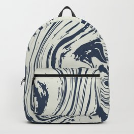 Abstract River Backpack
