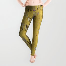 Gustav Klimt's The Kiss Leggings