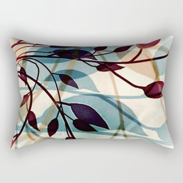 Flood of Leafs Rectangular Pillow
