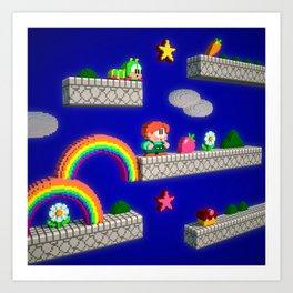 Inside Rainbow Islands Art Print