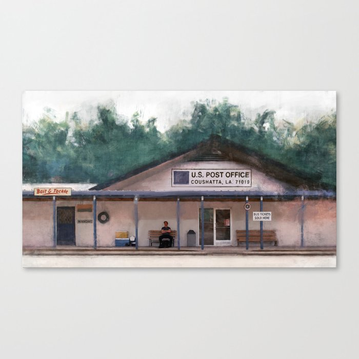 Coushatta Post Office - Better Call Saul Canvas Print
