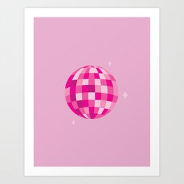 Disco Dreams Art Print