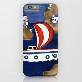 Journey to Greece iPhone Case