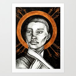 Ladies of Dragon Age: Vivienne Art Print