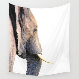 Elephant portrait Wall Tapestry