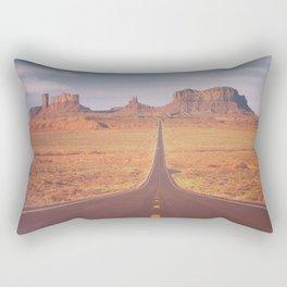 Road To Tribal Park Rectangular Pillow