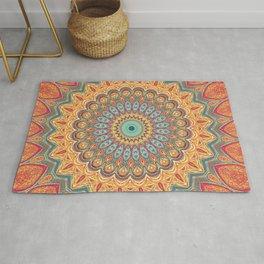 Jewel Mandala - Mandala Art Rug