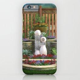 Tranquil Garden iPhone Case
