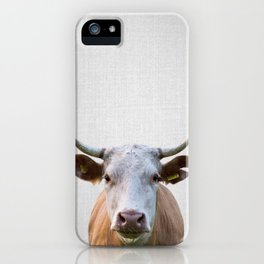 Cow - Colorful iPhone Case