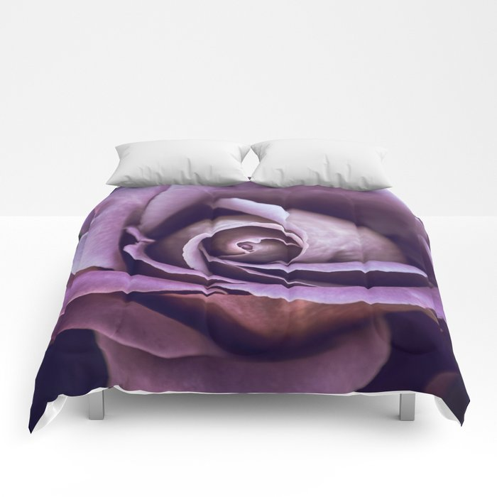 Fibonacci Rose Comforters