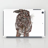 hare iPad Cases featuring Hare by Meredith Mackworth-Praed