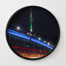 Namsan Lights Wall Clock